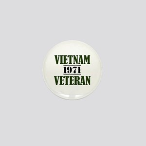 VIETNAM VETERAN 71 Mini Button