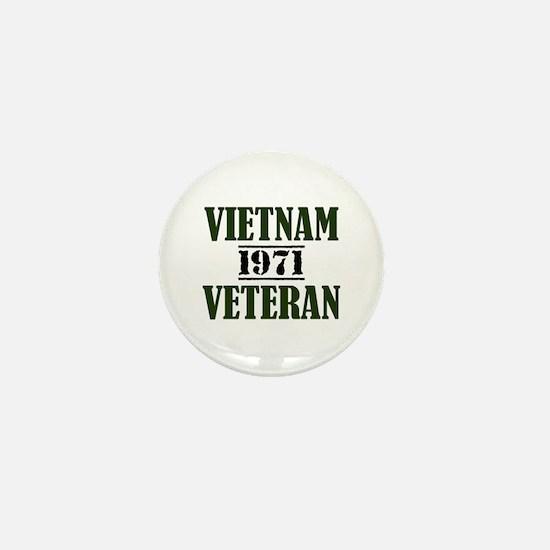VIETNAM VETERAN 71 Mini Button