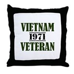 VIETNAM VETERAN 71 Throw Pillow