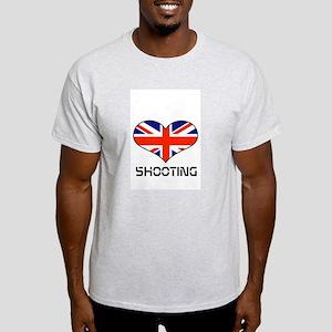 Love SHOOTING UNION JACK Light T-Shirt