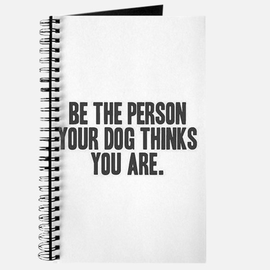 Be the Person Journal