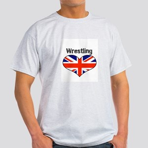 LOVE WRESTLING UNION FLAG Light T-Shirt