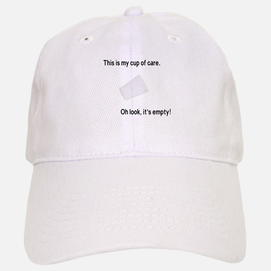 This is my cup of care Baseball Baseball Cap