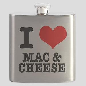 MAC CHEESE Flask