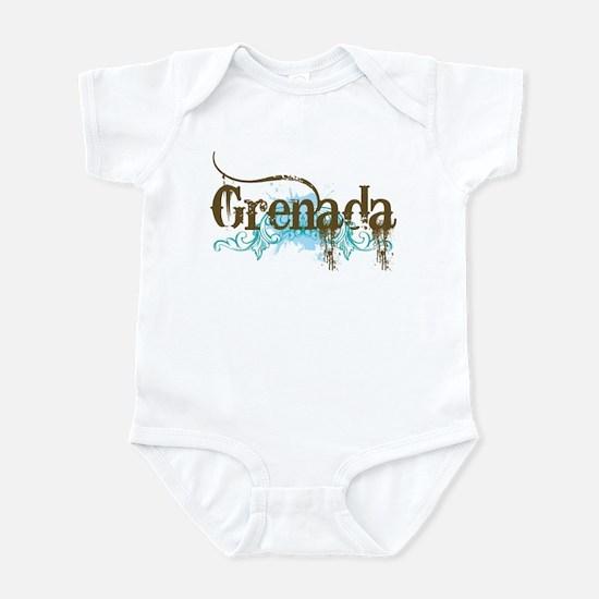 Grenada grunge Infant Bodysuit