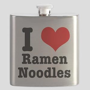 ramen noodles Flask