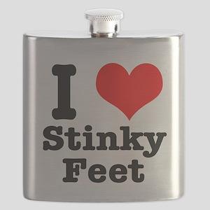 stinky feet Flask