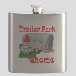 trailer park gnome Flask