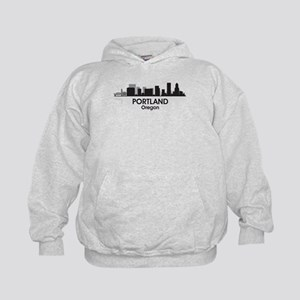 Portland Skyline Kids Hoodie