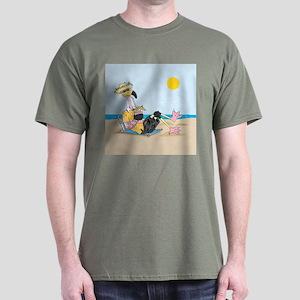 Cute Flamingo Dark T-Shirt