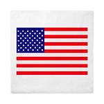USA flag Queen Duvet