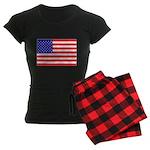 USA flag Women's Dark Pajamas