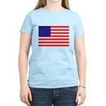 USA flag Women's Light T-Shirt