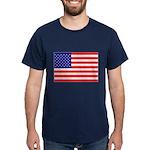 USA flag Dark T-Shirt