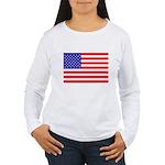 USA flag Women's Long Sleeve T-Shirt