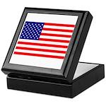 USA flag Keepsake Box