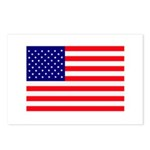 USA flag Postcards (Package of 8)