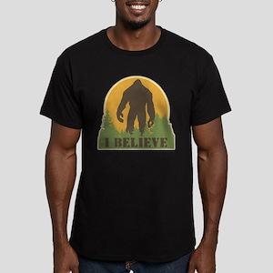 I Believe Men's Fitted T-Shirt (dark)