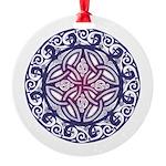 Celtic Shield Round Ornament
