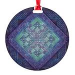 Celtic Avant Garde Round Ornament