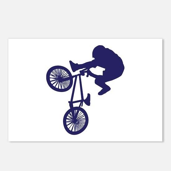 BMX Biker Postcards (Package of 8)