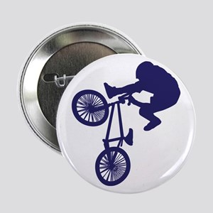 """BMX Biker 2.25"""" Button"""
