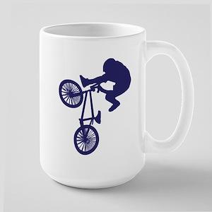 BMX Biker Large Mug