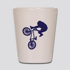 BMX Biker Shot Glass