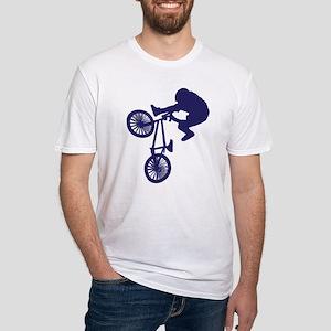 BMX Biker Fitted T-Shirt