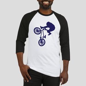 BMX Biker Baseball Jersey