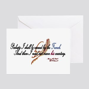 Perhaps I Shall Be Rescued Greeting Cards (Package