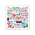Twilight Memories Square Sticker 3