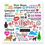 Twilight Memories Square Car Magnet 3