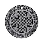 Celtic Cross Ornament (Round)