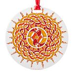 Celtic Sun Round Ornament