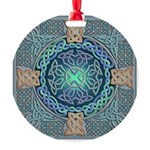 Celtic Eye of the World Round Ornament