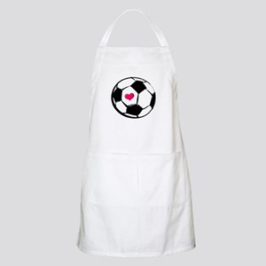Soccer Heart BBQ Apron