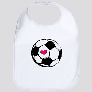 Soccer Heart Bib
