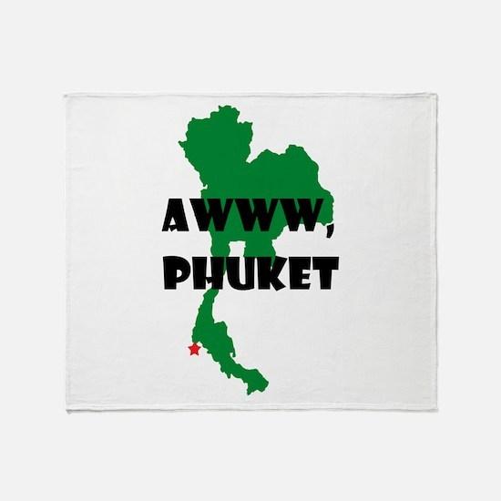 Phuket Throw Blanket