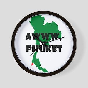 Phuket Wall Clock