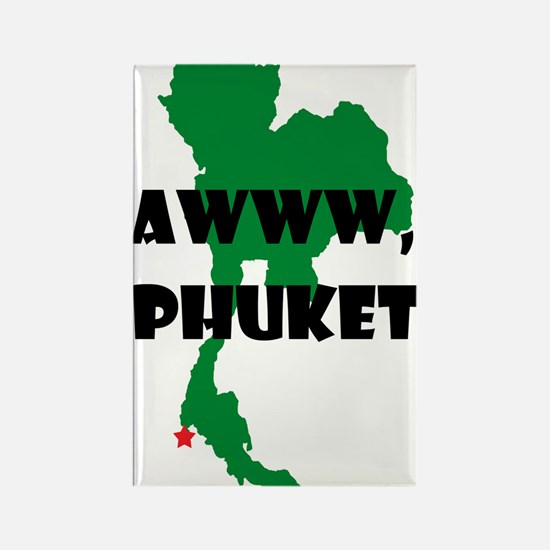 Phuket Rectangle Magnet