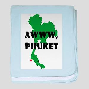 Phuket baby blanket