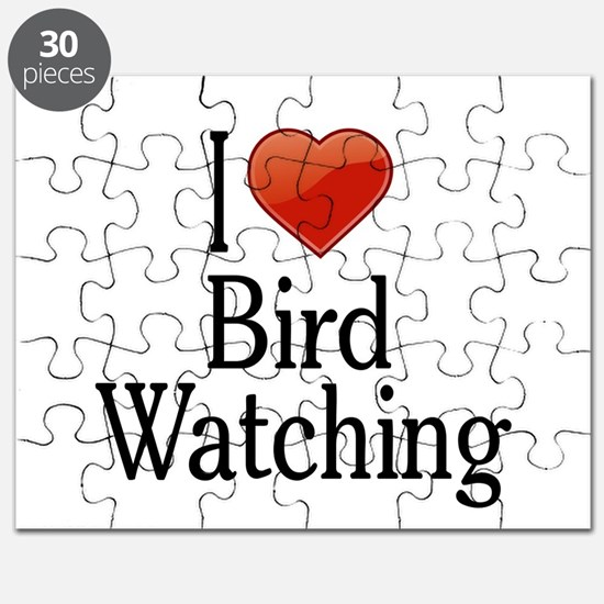 I Love Bird Watching Puzzle