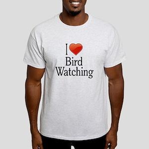I Love Bird Watching Light T-Shirt