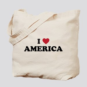 I Love America Tote Bag