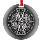 Celtic Dragons Round Ornament