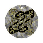 Celtic Dark Sigil Ornament (Round)