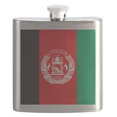 Afghanistan Flag Flask