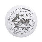 Celtic Victory Chariot Coin Ornament (Round)