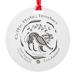 Celtic Lion Coin Round Ornament